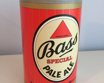 Vintage Bass Pale Ale Handkerchiefs in Promotional Cardboard Can