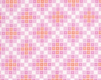 36108 -  1/2 yard of  Erin McMorris Weekends Hopscotch EM26 in Pink