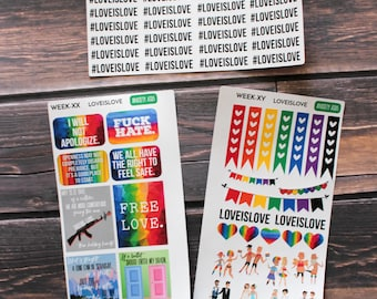 Love is Love LGBT Charity Weekly Set - M