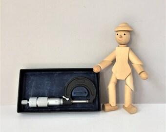 M G Tool Co Micrometer, Vintage Caliper, Outside Micrometer, Mechanical Micrometer, Engineering Tools