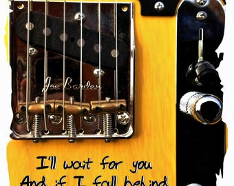 Bruce Springsteen Lyrics If I Fall Behind