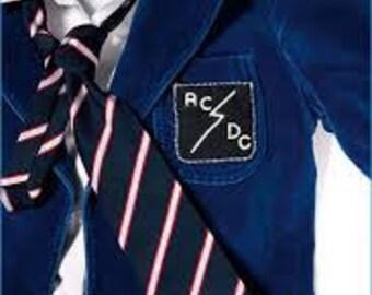 Blue Velveteen Suit