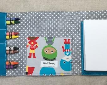 Coloring Wallet - Quiet Activities for Kids