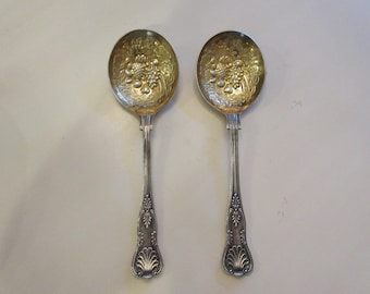 ENGLAND SERVING SPOONS