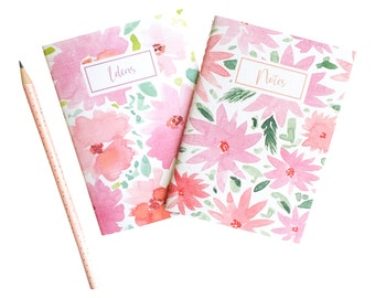 SALE: Set of 2 Watercolor Pocket Notebooks by Louise Dean