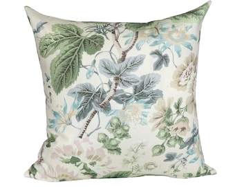 Highgrove Floral designer pillow covers - Made to Order - Scalamandre