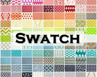 Fabric Swatch- Premier Prints Fabric Sample- Choose Any 1 Swatch- Decorative Pillow Fabric- Curtain Sample- Cotton Home Decor Fabric