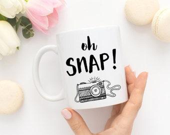 Photographer Coffee Mug - Oh Snap!
