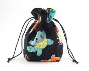 Pokemon Character Drawstring Bag, Dice Bag