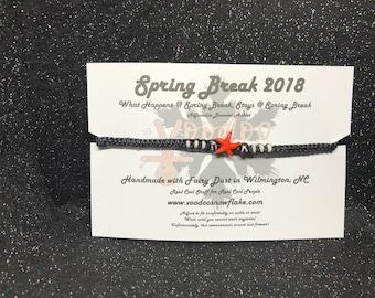Spring Break 2018 Adjustable Bracelet/Anklet