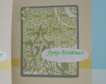 Single card - happy birthday - 10005