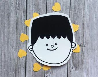 Sticker Happy Faces • Bernardo