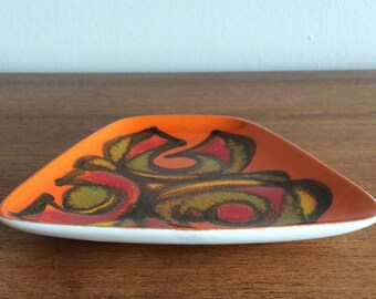 Mid Century Ceramic dish from Poole Pottery