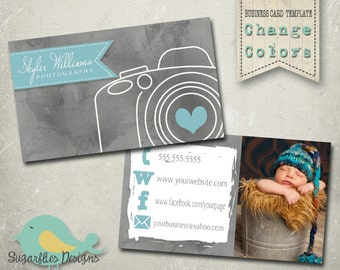 Chalkboard business card templates business card 15 photography business card templates business card 20 camera reheart Gallery