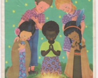 Unity at Christmas, image from vintage greeting card