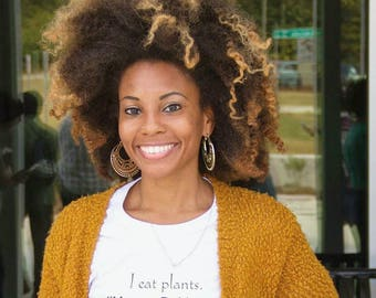 I Eat Plants - Vegan By Nature Tee