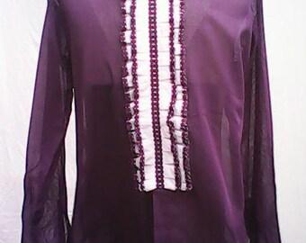 Mr. Harry Ruffled Shirt 1970s.