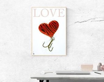 Printed Poster: Lure from Love Series