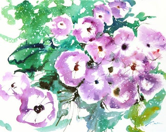 Fresh Pick No.378, limited edition of 50 fine art giclee prints from my original watercolor