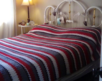 Queen sized Crochet Blanket