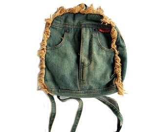 90s/00s Denim Mini Backpack