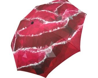 Red Umbrella Rose Umbrella Floral Designed Umbrella Geometric Umbrella Rainbow Umbrella Photo Umbrella Automatic Abstract Umbrella
