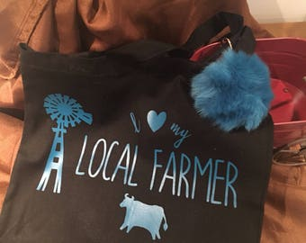 I Love my Local Farmer Tote