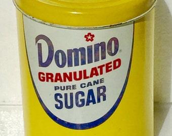 Vintage Domino Sugar Advertising Tin