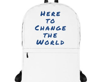 Change the World Backpack