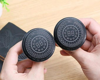 Time & Date compass photosensitive seal ---The compass photosensitive seal--2 Styles to choose