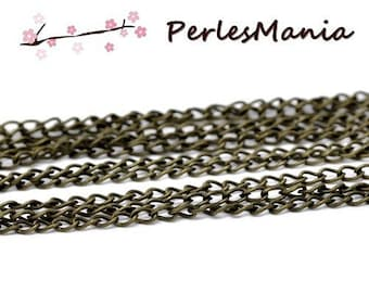 PAX 10 m chain BRONZE S1112399 for creating necklaces, DIY