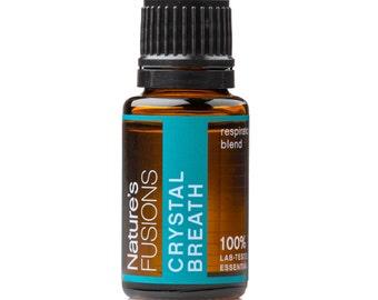 Crystal Breath - Clear Breathing Essential Oil Blend 15ml - 100% Pure