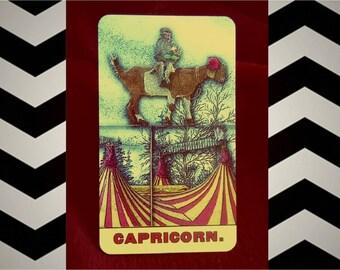 CAPRICORN TAROSCOPE READING- by Cosmopolitan's tarot expert, via email/pdf
