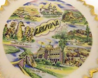 Arizona Souvenir Plate