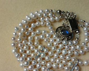 Custom made pearl jewelry, you design it and our pearl artesian will create it, she can do almost anything Great idea for bridal jewelry