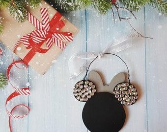 Minnie Mouse Christmas Ornament, Disney Ornament