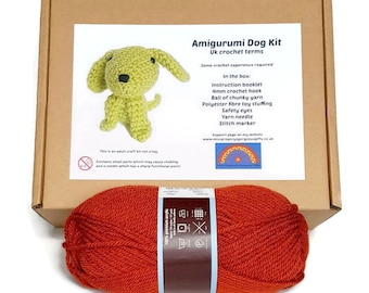 Amigurumi Dog Kit - Copper