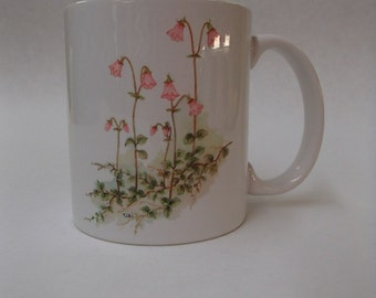 Scandinavian Swedish Linnea Flowers Mug #298