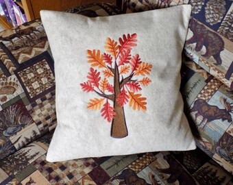Fall Tree 3 Toss Pillow