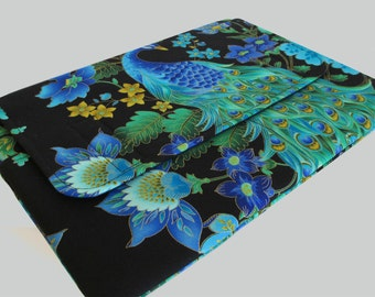 Microsoft Surface Case, Surface Book Case, Surface Sleeve, Surface Cover, Surface Pro 2 3 4 RT Case Peacock