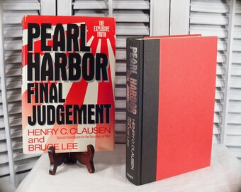 SALE 1992 Pearl Harbor Final Judgement Henry Clausen Bruce Lee First Edition Hardcover Book Special Investigator Secretary of War