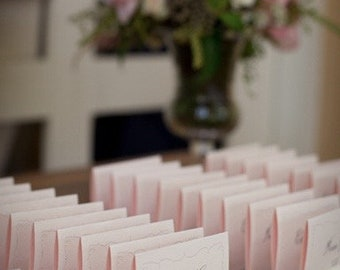 Place Card Holders + White Plank Place Card Holder