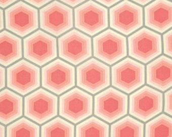 Tula Pink's  Honeycomb in Sorbet, Bumble collection, 1/2 Yard