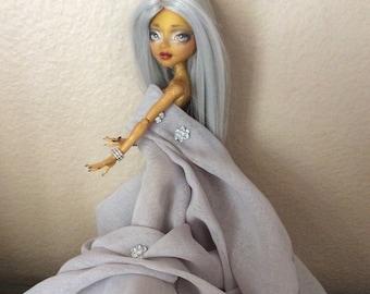 Monster Doll High Repaint.   Astrid. OOAK