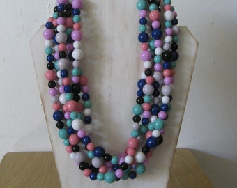 Stormy Skies Gumball Necklace