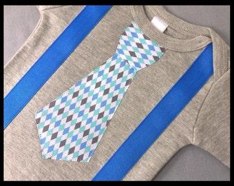 Baby Boy Clothes - Baby Boy Newborn Coming Home Outfit - Baby Boy Clothing - Newborn Boy Hospital Outfit - Grey Bodysuit - Baby Boy Birthday