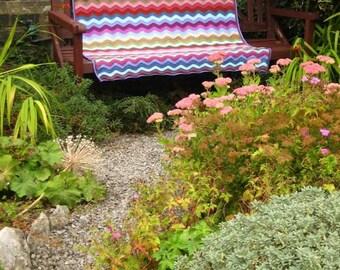 Attic 24 Cottage Ripple Blanket custom made to order