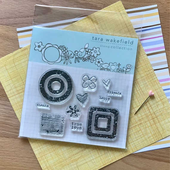 Weathered love clear stamp for paper crafting // stamp set // crafting // rubber stamps