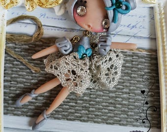 Little dancer necklace