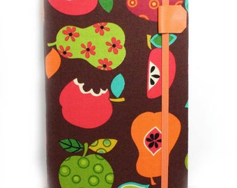Kindle cover with Pockets fits kindle keyboard - Autumn Fruit kindle 3 cover case